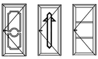 PVC deuren modellen