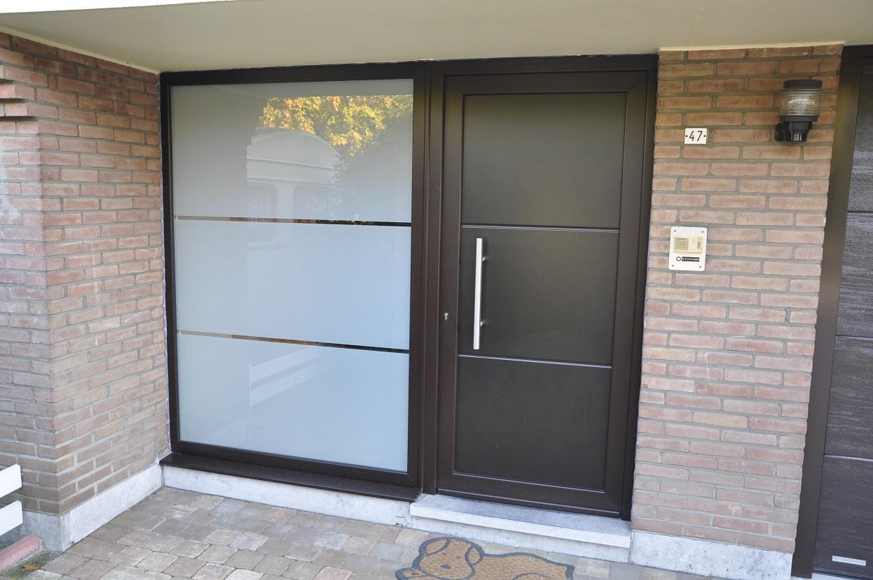 Een designvoordeur de mogelijkheden zijn eindeloos for Barillet porte fenetre pvc